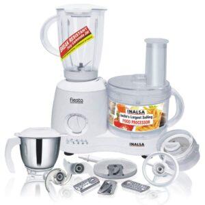 Inalsa Food Processor Fiesta 650-Watt Mixer grinder