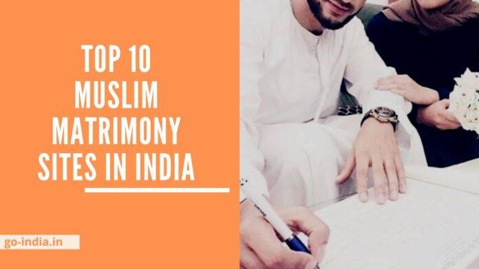 Muslim Matrimony Sites in India