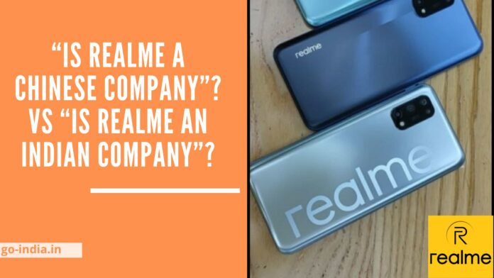 Is Realme a Chinese Company