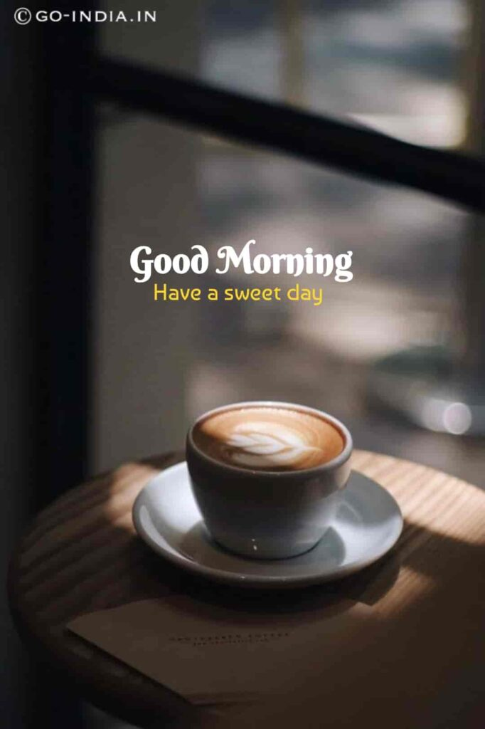 gd mrng coffee images
