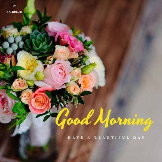 good morning wallpaper with beautiful flowers