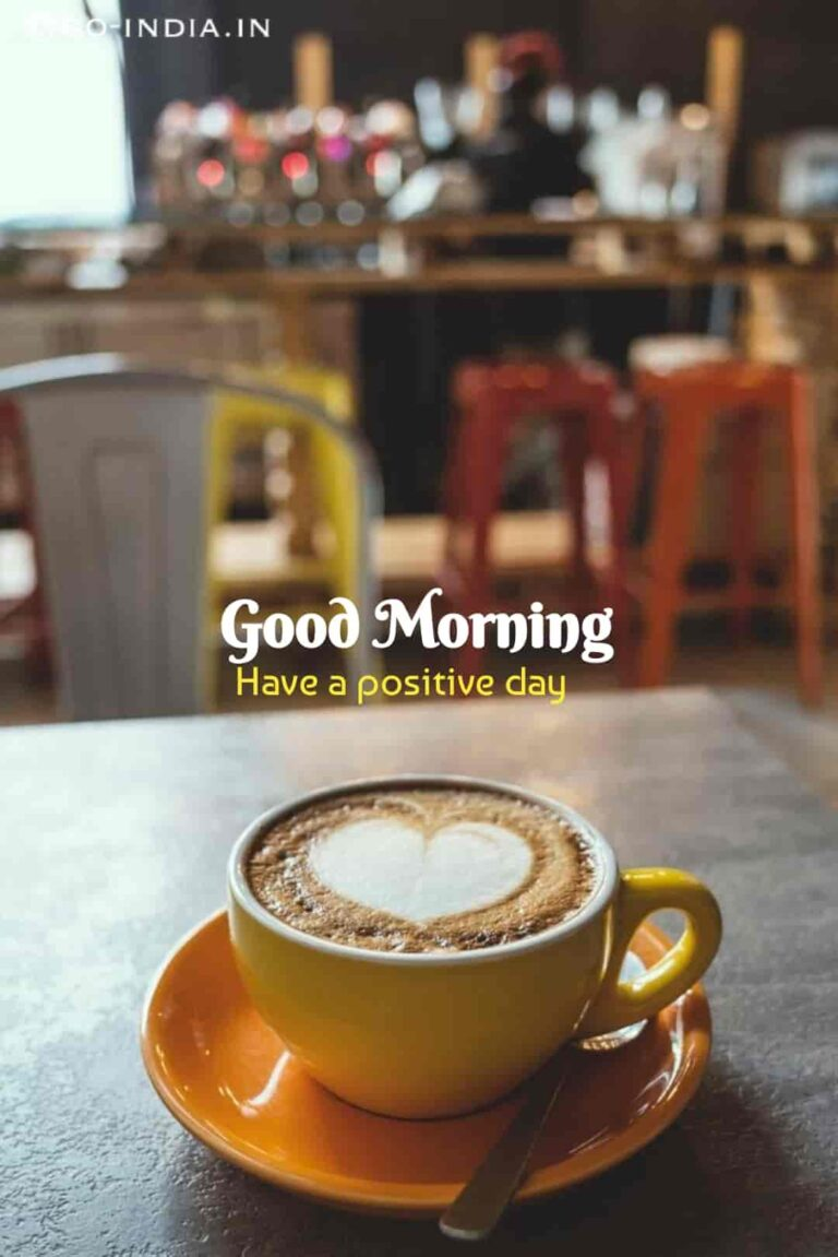 good morning with coffee images with heart
