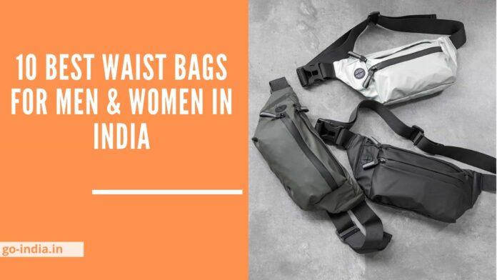 10 Best Waist Bags For Men & Women In India 2021