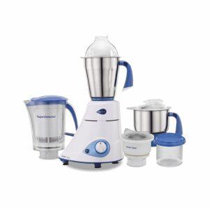 Preethi blue leaf platinum low noise mixer grinder