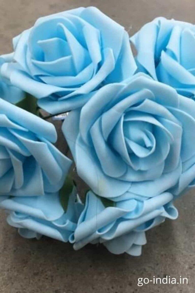 light blue rose pic