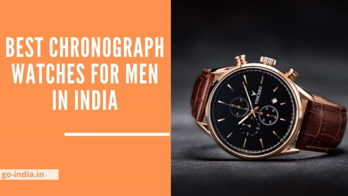 Best Chronograph Watches for Men in India