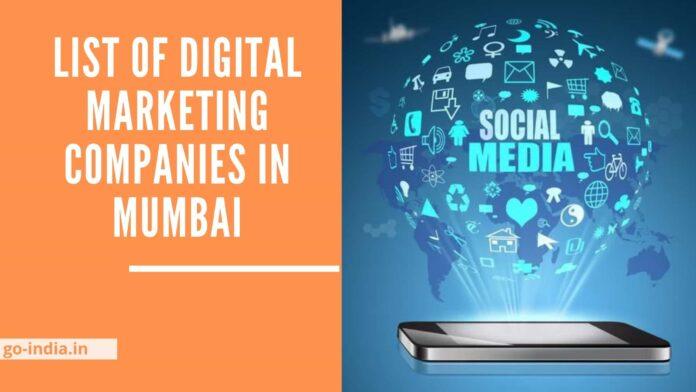 List of Digital Marketing Companies in Mumbai