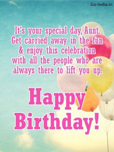 aunt happy birthday images