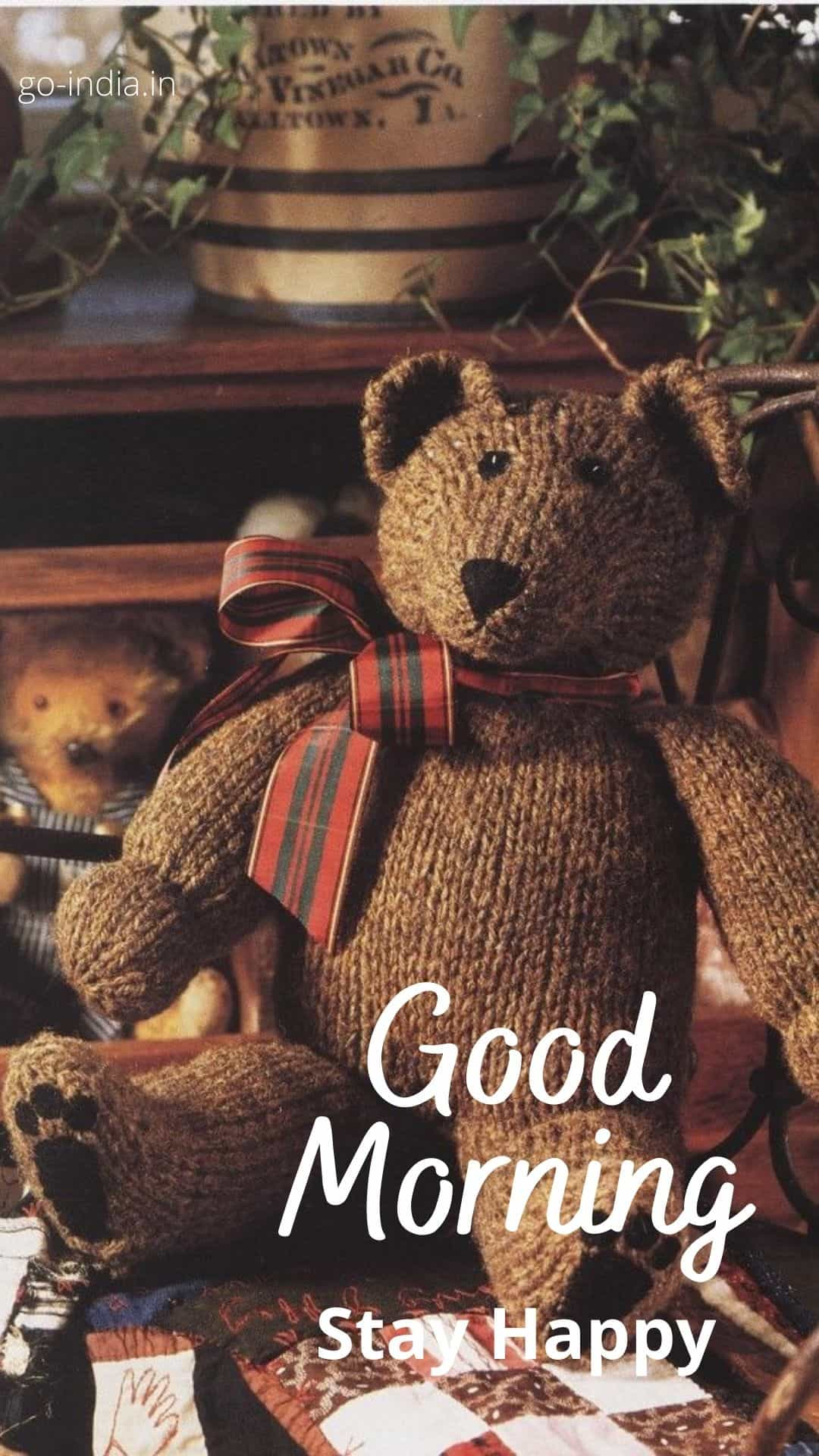 good morning teddy bear images HD download