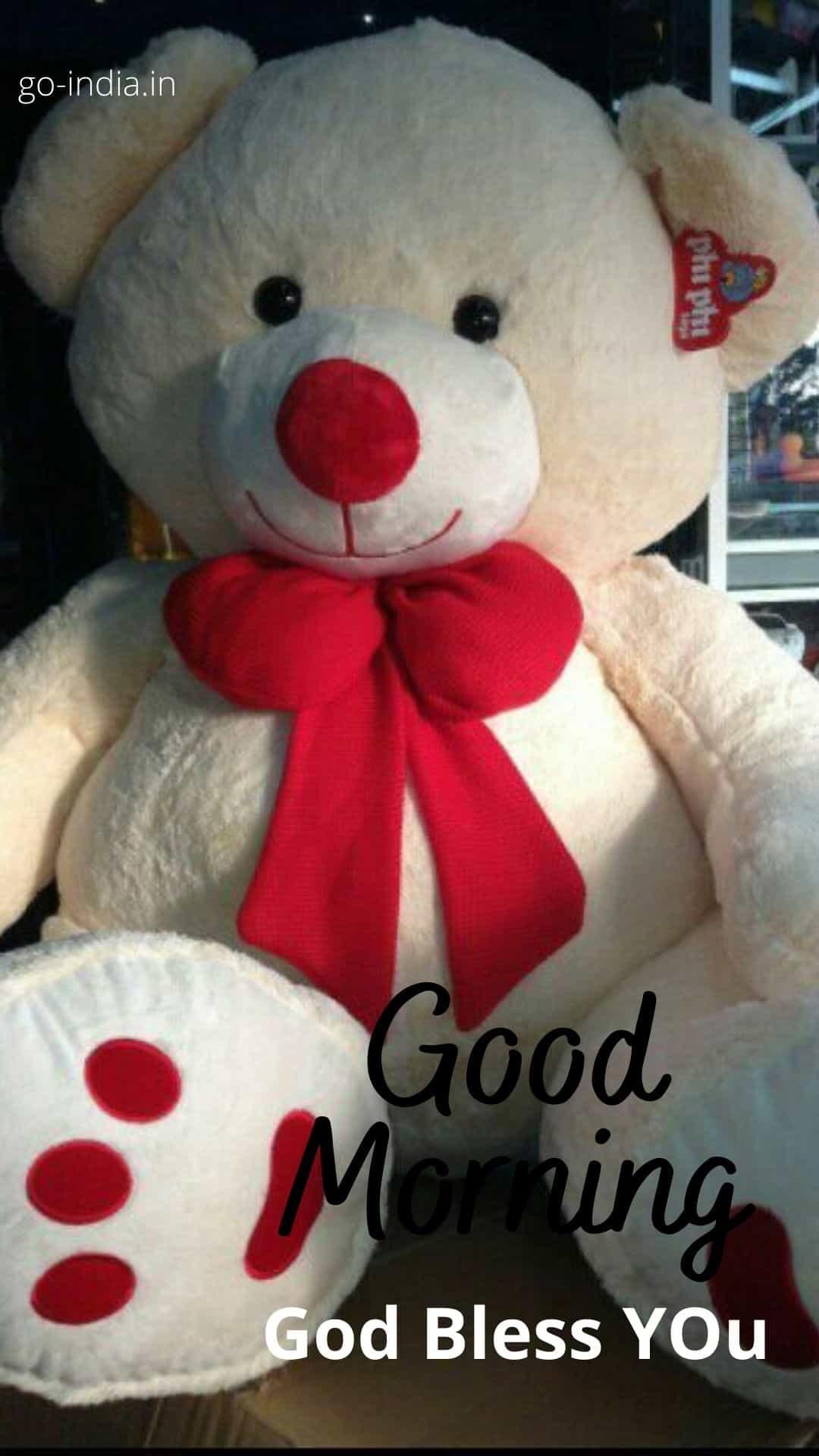good morning teddy bear images