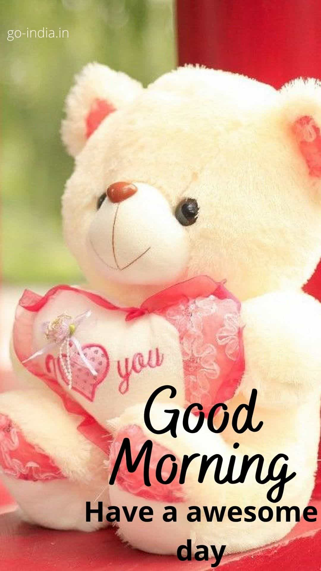 good morning teddy pictures
