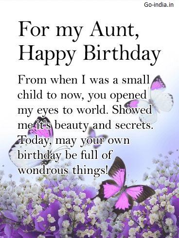 happy birthday aunt image