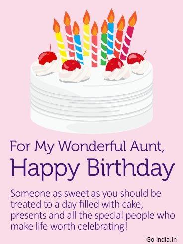 happy birthday aunt images for instagram