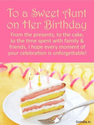 happy birthday aunt images for whatsapp