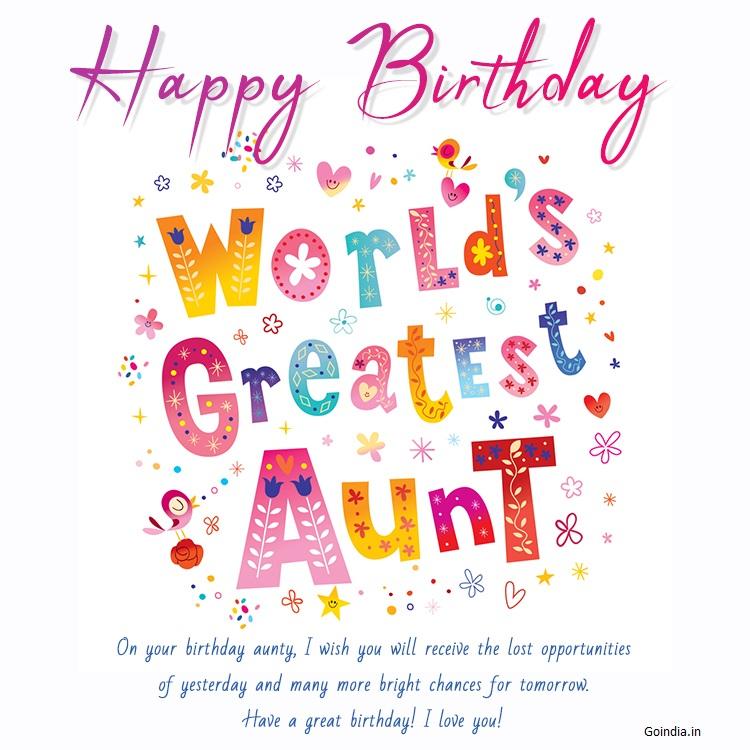 happy birthday auntie images 3