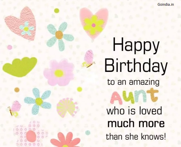 happy birthday auntie images with messages