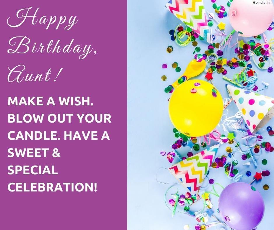 happy birthday auntie images with quotes