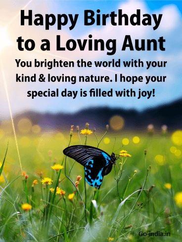 happy birthday wonderful aunt