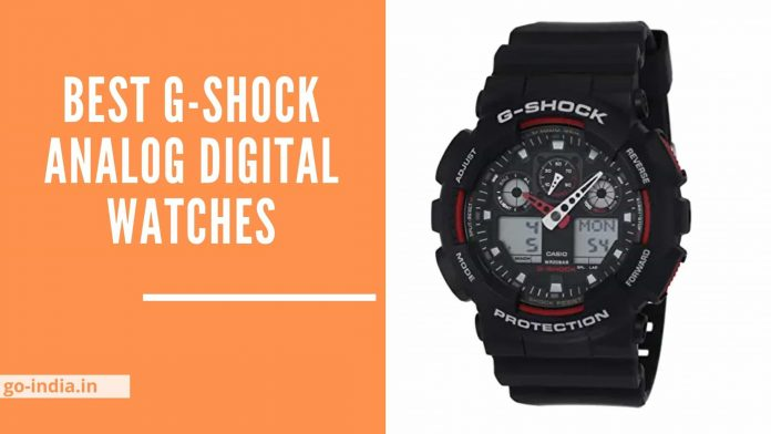 Best G-Shock Analog Digital Watches