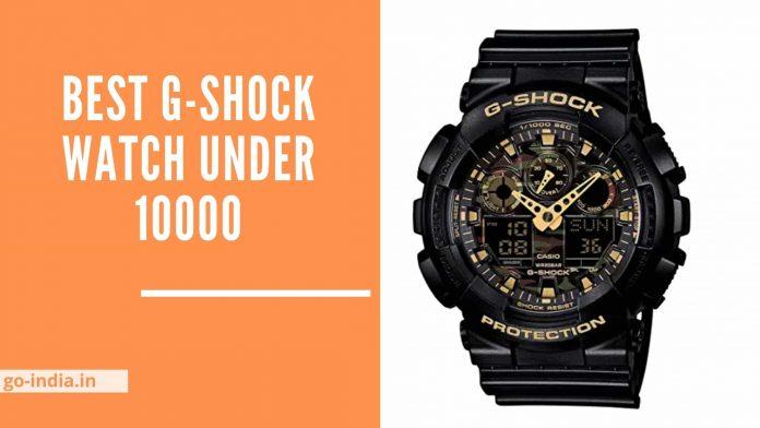 Best G-Shock Watch Under 10000