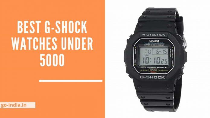 Best G-Shock Watches Under 5000