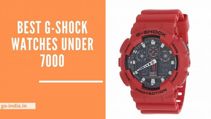 Best G-Shock Watches Under 7000
